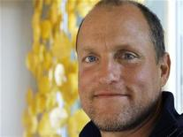 """<p>Actor Woody Harrelson poses during a portrait session to promote his new film """"The Grand"""", a comedy set in the world of professional poker, at a hotel in Hollywood, California March 5, 2008. REUTERS/Fred Prouser</p>"""
