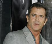 "<p>Actor Mel Gibson arrives as a guest at the Los Angeles premiere of the film ""American Gangster"" in Hollywood, California, October 29, 2007. REUTERS/Fred Prouser</p>"