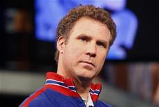 "<p>Actor Will Ferrell is interviewed at the MuchMusic television station to promote ""Semi-Pro"" in Toronto February 27, 2008. REUTERS/Mark Blinch</p>"