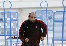 <p>Calcio, Emerson rescinde il contratto col Milan. REUTERS/Kim Kyung-Hoon</p>