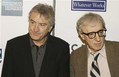 "<p>Robert De Niro (L) and director Woody Allen arrive at the premiere of the film ""Whatever Works"" on the opening night of the Tribeca Film Festival in New York, April 22, 2009.REUTERS/Lucas Jackson</p>"