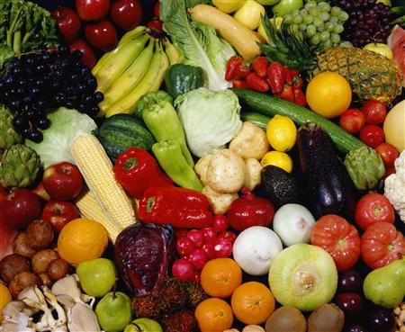 Fresh fruit and vegetables are seen in this undated file photo. (REUTERS/Newscom)
