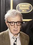 <p>Cineasta norte-americano Woody Allen chega no Festival Tribeca em Nova York. 22/04/2009. REUTERS/Lucas Jackson</p>