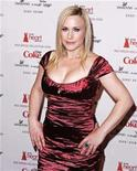 <p>Actress Patricia Arquette arrives for the Heart's Truth Red Dress collection show at New York Fashion Week in New York, February 13, 2009. REUTERS/Carlo Allegri</p>