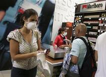 <p>Immagine d'archivio. REUTERS/Pilar Olivares(PERU HEALTH)</p>
