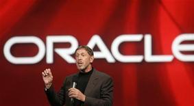 <p>Il direttore generale di Oracle Larry Ellison. REUTERS/Robert Galbraith (UNITED STATES)</p>