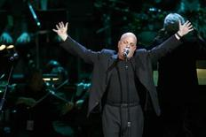 <p>Singer Billy Joel performs during the Rainforest Foundation Benefit Concert in New York, May 8, 2008. REUTERS/Keith Bedford</p>