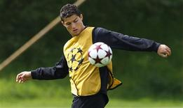 <p>Foto de arquivo do Cristiano Ronaldo do Manchester United. 20/05/2009. REUTERS/Phil Noble</p>