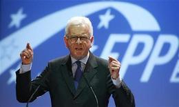 <p>Il presidente del Parlamento europeo, Hans-Gert Poettering. REUTERS/Kacper Pempel(POLAND POLITICS)</p>