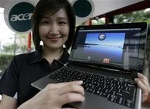 <p>Un computer Acer con il sistema operativo Android di Google. REUTERS/Pichi Chuang</p>