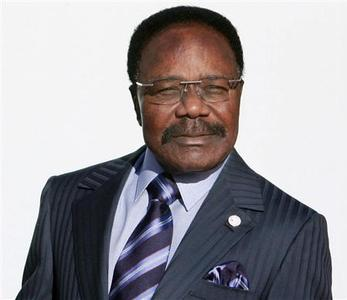 Gabon's President Omar Bongo attends the opening of the 24th Africa-France summit in Cannes, southern France, in this February 15, 2007 file photo. REUTERS/Patrick Kovarik/Pool/Files