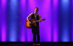 "<p>Kris Allen do ""American Idol"". 05/06/2009. REUTERS/Jessica Rinaldi</p>"