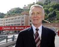 <p>Presidente da FIA, Max Mosley, em Monte Carlo. 23/05/2009. REUTERS/Robert Pratta</p>