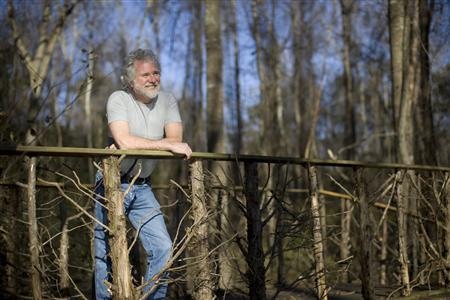 Chuck Leavell is pictured in April 2009 on his farm about 100 miles southeast of Atlanta, Georgia. REUTERS/Fernando Decillis/Handout