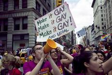 <p>Stallo in assemblea stato New York impedisce voto su nozze gay. REUTERS/Jacob Silberberg</p>