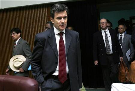 John Sawers, the new head of Britain's spy agency, is pictured in this June 4, 2008 file photo. REUTERS/Mohamed Nureldin Abdala