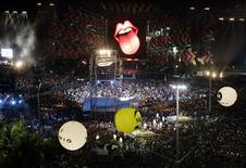 <p>Concerto Rolling Stones a Rio de Janeiro. REUTERS/Paulo Whitaker</p>