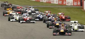 <p>Futuro da Fórmula 1 está em risco, dizem escuderias. REUTERS/Stephen Hird/Files</p>