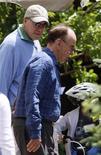 <p>Outras personalidades no encontro em Sun Valley incluem o ex-CEO da Disney Michael Eisner (à esquerda) e o presidente da News Corp Rupert Murdoch. REUTERS/Rick Wilking</p>