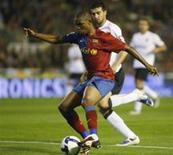 <p>Manchester City descarta contratação do atacante do Barcelona Samuel Eto'o, informou o clube inglês na sexta-feira. REUTERS/Heino Kalis</p>