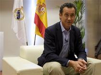<p>Diretor-geral do Real Madrid, Jorge Valdano, em Madri. 13/07/2009. REUTERS/Paul Hanna</p>
