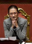 <p>Il ministro dell'Istruzione Maria Stella Gelmini. REUTERS/Tony Gentile</p>