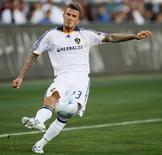 <p>Jogador David Beckham, do Los Angeles Galaxy, em Carson. 19/07/2009. REUTERS/Lucy Nicholson</p>