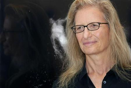 U.S. photographer Annie Leibovitz attends the inauguration of her exhibition 'A Photographer's Life 1990-2005' in Madrid June 18, 2009. REUTERS/Susana Vera