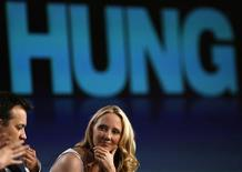 "<p>Cast member Anne Heche attends a panel discussion for the new HBO television series ""Hung"" at the Television Critics Association Cable summer press tour in Pasadena, California July 30, 2009. REUTERS/Mario Anzuoni</p>"