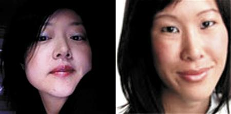 American journalists Euna Lee (L) and Laura Ling are shown in this undated file photo from Yonhap news agency. REUTERS/Yonhap