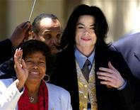 <p>Michael Jackson con la madre Katherine.</p>