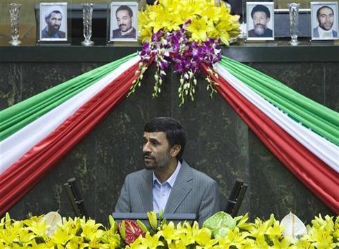 Ahmadinejad sworn in