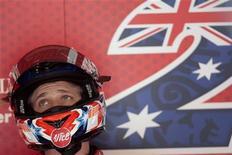 <p>Stoner in una foto d'archivio. REUTERS/Michael Kooren (NETHERLANDS SPORT MOTOR RACING)</p>