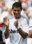 <p>Jogador do Real Madrid Cristiano Ronaldo em Landover. 09/08/2009. REUTERS/Jason Reed</p>