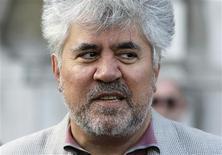 """<p>Diretor espanhol Pedro Almodóvar na estreia britânica de """"Los Abrazos Rotos"""" em Londres. 30/07/2009. REUTERS/Stefan Wermuth</p>"""