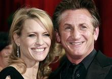 <p>Sean Penn e Robin Wright-Penn, em foto de arquivo. Casamento do ator naufraga pela 3a vez. REUTERS/Jason Reed/Files</p>