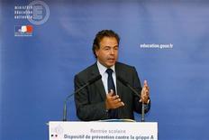 <p>Il ministro dell'Istruzione francese Luc Chatel. REUTERS/Benoit Tessier (FRANCE POLITICS EDUCATION HEALTH)</p>