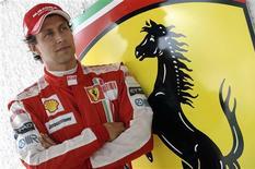 <p>Sonho vira realidade para italiano Luca Badoer, em foto de arquivo, na Ferrari. REUTERS/Ercole Colombo/Ferrari</p>