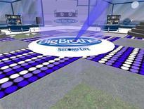 """<p>Il logo del Grande fratello nel mondo virtuale di """"Second Life"""" . REUTERS/Adam Pasick</p>"""