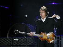"""<p>O ex-Beatle Paul McCartney (em foto de arquivo) acha """"ridículos"""" os rumores sobre sua morte. REUTERS/Shannon Stapleton</p>"""