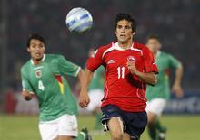 <p>Mark Gonzalez desfalcará o Chile em jogo contra o Brasil REUTERS/Eliseo Fernandez</p>