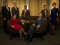 "<p>The cast of AMC's ""Mad Men"" in an undated photo courtesy of the network. REUTERS/Handout</p>"