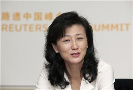 Shirley Yu-Tsui, a vice president of strategy for IBM in greater China, attends the Reuters China Investment Summit in Beijing, September 2, 2009. REUTERS/Christina Hu