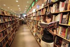 """<p>Arriva il """"digi-romanzo"""": che unisce libri, film e siti web. REUTERS/Aly Song</p>"""