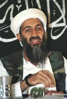 Osama bin Laden talks at a news conference in Afghanistan in this May 26, 1998 file photo. REUTERS/Stringer/Files
