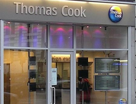 A Thomas Cook location in an undated image courtesy of the company. REUTERS/Handout