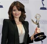 <p>Tina Fey, l'imitatrice Usa di Sarah Palin, vince l'Emmy. REUTERS/Danny Moloshok</p>