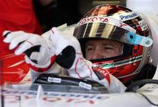 <p>Il pilota della Toyota Jarno Trulli. REUTERS/Sebastien Nogier</p>