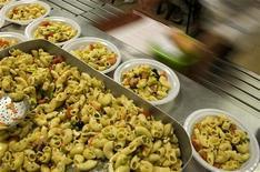 <p>Piatti di pasta. REUTERS/Tony Gentile (ITALY)</p>