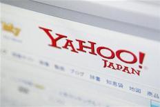 <p>Foto de archivo de la captura de pantalla de una computadora sobre el sitio Yahoo Japan Corp en Tokio, 19 ago 2009. La Comisión Europea está en conversaciones informales con MICROSOFT y YAHOO por su acuerdo para un motor de búsqueda, dijo el martes una fuente cercana a la situación. REUTERS/Stringer</p>